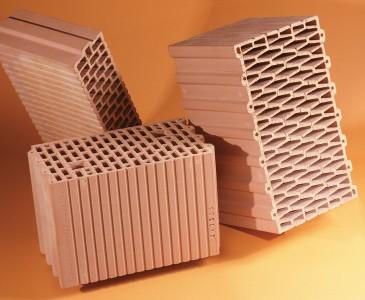 Керамический поризованный кирпич