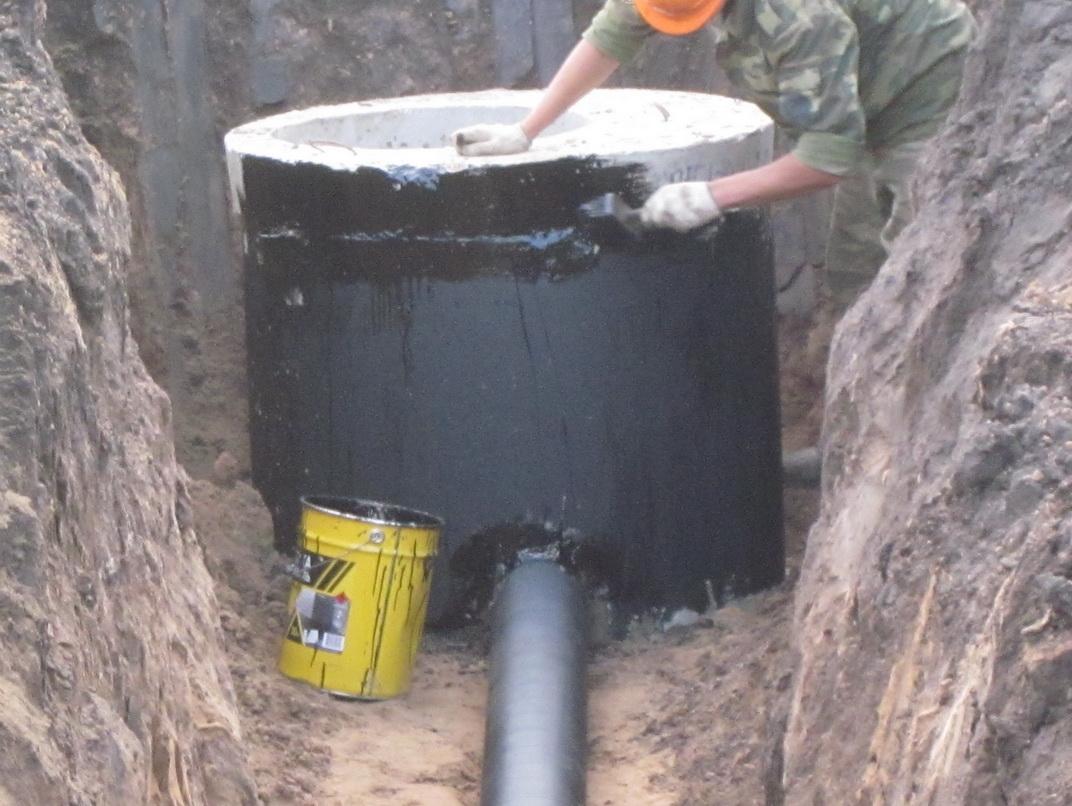 жб кольца схема канализации в частном доме