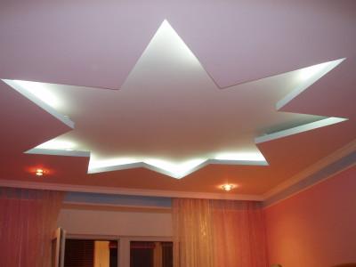 Необычный потолок