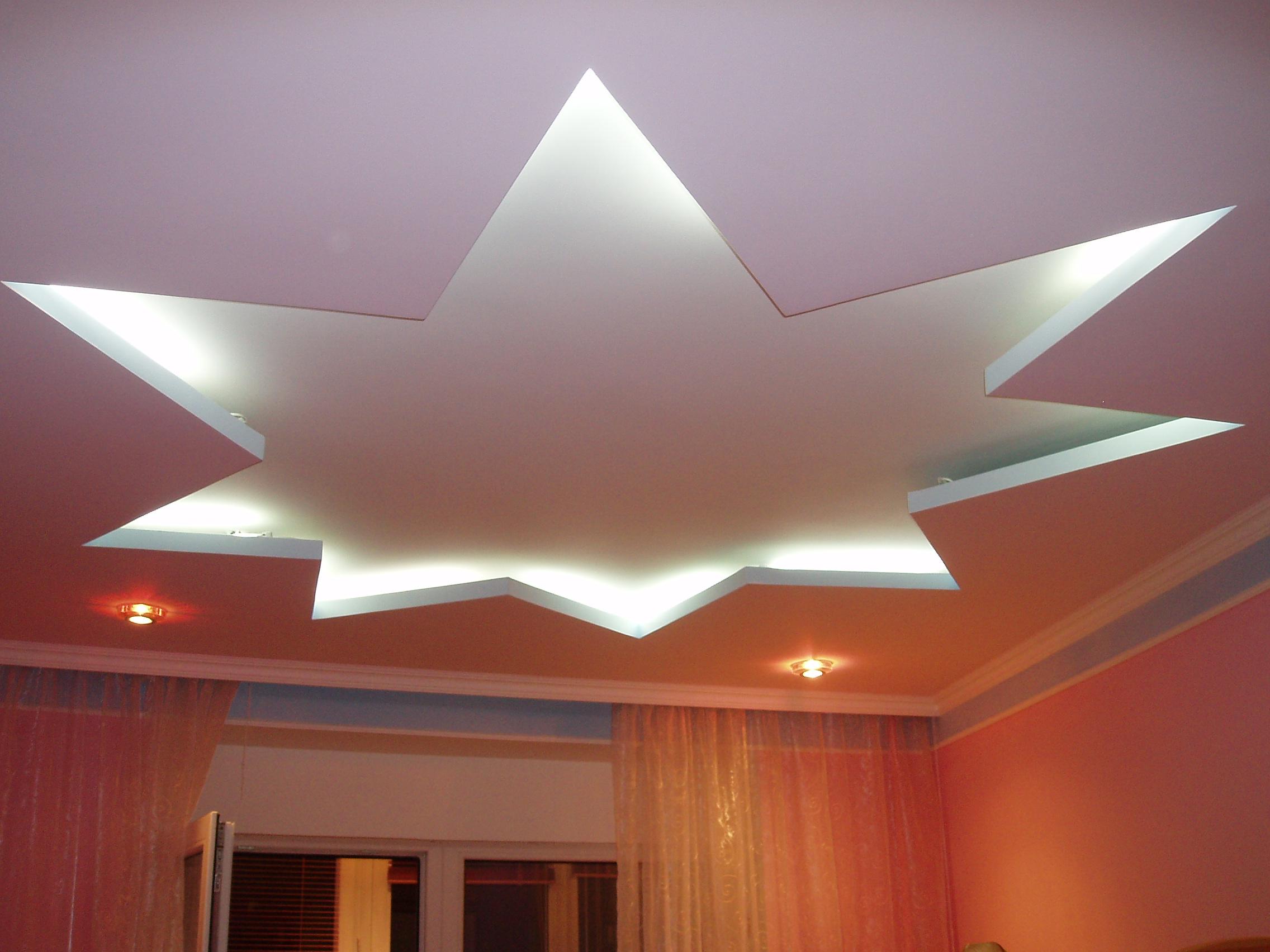 Как сделать навесной потолки самому