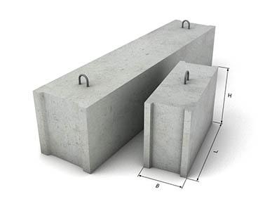 Фундаментные блоки с доставкой в Рязани