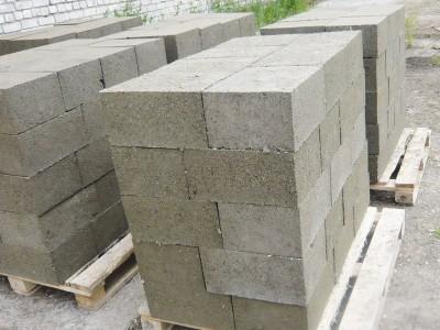Поддоны блоков опилкобетона